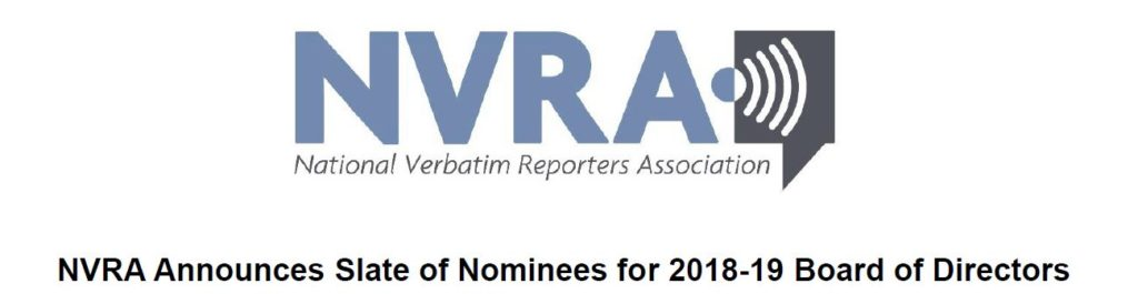 I am Excited to be Nominated for a Two-Year NVRA Directorship