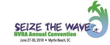 NVRA Annual Convention – Seize the Wave – Myrtle Beach, SC, June 27-30, 2018