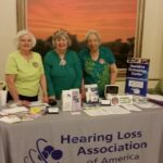 HLAA members at the 2016 People with Disabilities Awareness Day.