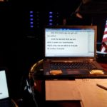 Backstage captioning for an Elders Conference